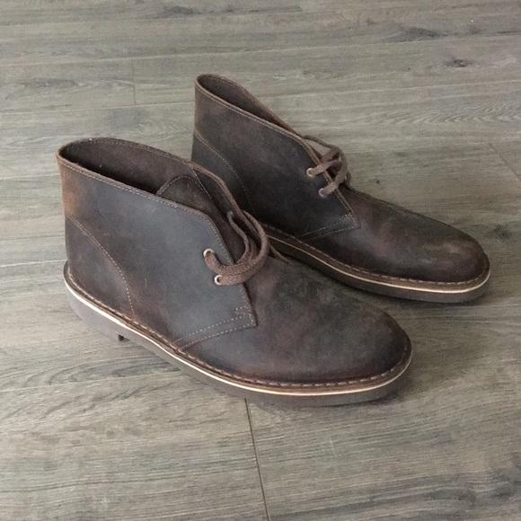 CLARKS Men`s Desert Boot   Mens Boots